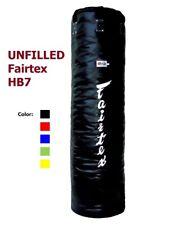 Fairtex HB7 UNFILLED Muay Thai Pole bag Heavy Punching Bag Training Boxing 7 ft