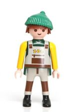 """Playmobil Figure Zoo Worker Animal Transport Driver w/ """"Knit"""" Hat Overalls 4855"""