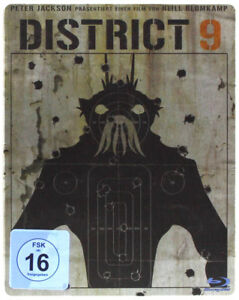 °DISTRICT 9 LIMITED STEELBOOK EDITION° Ein Film von Neill Blomkamp