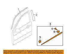 KIA OEM 04-09 Spectra FRONT DOOR-Body Side Molding Right 877122F000
