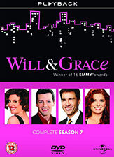 DVD:WILL AND GRACE - SERIES 7 - NEW Region 2 UK