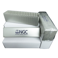 Lot of 40 - NGC Silver Storage Boxes for 20 Certified Coins Brand New Full Case
