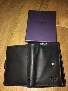 OSPREY Leather B-Fold Card Holder