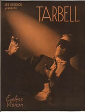Eyeless Vision Harlan Tarbell Promotional Flyer