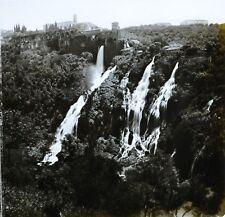 1860s Glass Stereoview Photo Italy The Little Waterfalls Of Tivoli Near Rome