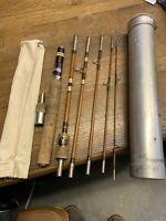 "nice old- WRIGHT and MC GILL TRAILMASTER 6' 9"" --6 PIECE fishing Rod-no M6TMU"