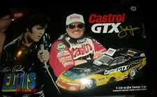 ACTION #84 NHRA JOHN FORCE 1998 MUSTANG FUNNY CAR 1/24 ELVIS CASTROL