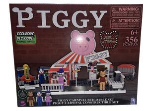 PIGGY ROBLOX Carnival Buildable Construction Set 356 PCS Exclusive DLC CODE