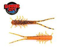 """3"""" HellGies Pumpkin Perch  Lunker City Creature Baits Barsch Forelle"""