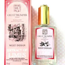 GEO F TRUMPER EXTRACT OF LIMES COLOGNE 50ML GLASS west indian Colonia PINK LABEL