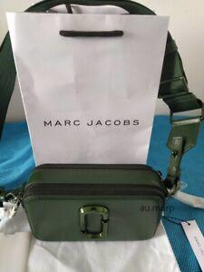 NWT Genuine Marc Jacobs Snapshot Small Camera Bag Crossbody OLIVE sales...