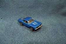 Resin Plymouth Barracuda HO Slot Car with UltraG chassis & RRR Wheels/Tires