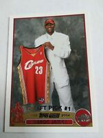 2003-04 Topps #221 LeBron James Cleveland Cavaliers RC Rookie GREAT CONDTION!