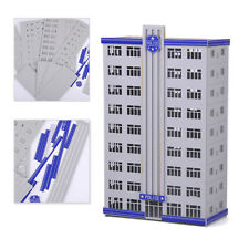 Scale Railway Police Department Headquarter Model Station Building 1:150