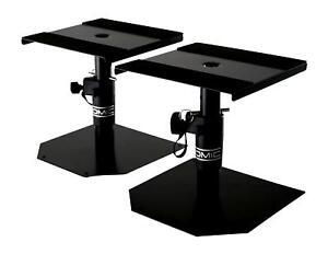 Stabil Ständer Stativ Studio Monitor Paar Lautsprecher DJ Speaker Boxen Stand