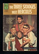 Three Stooges Meet Hercules (Movie Classics) #208 1962 Fan Club Back Cover