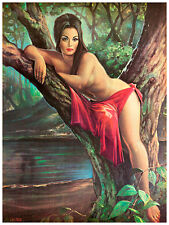 Woodland Goddess by JH Lynch A1+ Tretchikoff Era High Quality Canvas Print