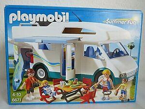 Playmobil 6671 Summer Fun Camper / Wohnmobil und OVP