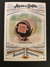 2018 Topps Allen & Ginter Baseball Equipment of the Ages #26 Radar Gun