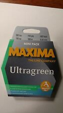 maxima ultragreen mini pack 30# 110yds. New Unopened