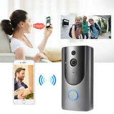 Rechargeable Smart Wireless WiFi Security DoorBell Video Camera Phone Door Bell