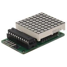 Seamless Cascadable Arduino PIC 8x8 LED 5.5V matrix Max7219 5 x Dupond Cable TS