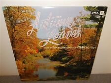 * Eric Robertson . Autumn Leaves . Piano Stylings . Canadian Artist Debut ARC LP