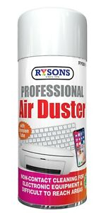 200ml Compressed Air Duster Electrical Cleaner Keypads Laptops Printers UK