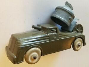 BARCLAY Original Lead Toy Searchlight Truck #BV57a RARE & HARD TO FIND Manoil