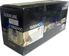 LEXMARK 15G041C C752-C752L-C760-C762-C752-C762  CYANO TONER ORIGINALE