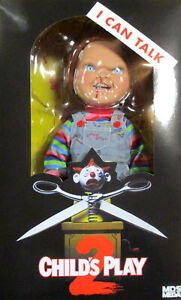 "CHILD'S PLAY 2 Chucky - Figur + Sound - 38 cm / 15"" Mezco"