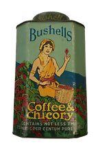 Rare Bushells Coffee and Chicory Tin C1910. 1 Lb.