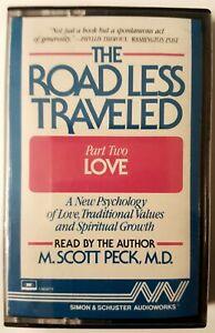 "M. Scott Peck ""The Road Less Traveled - Part 2: Love"" (Cassette, 1986)"