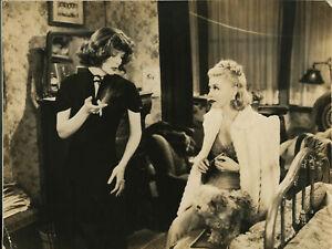 STAGE DOOR 1937 •  Katherine Hepburn & Ginger Rogers • 10.25 x 13 Photo Repro