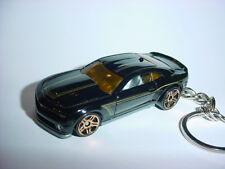 Nuevo 3D Negro Chevrolet Camaro Custom Llavero Key Racing Acabado Ss Zl Z