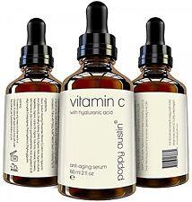 Vitamin C & E Serum 60ml Natürliche Hyaluronsäure Bio-Jojobaöl für das Gesicht