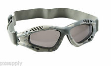 tactical goggles acu digital camo shatterproof sunglasses rothco 10378