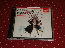 """2 CD """"OPÉRETTE PASSION"""" COMPILATION / EMI CLASSICS, 1990"""