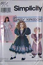 Daisy Kingdom Dress Sewing Pattern S0657 Size 3-5