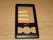 Genuine Original Sony Ericsson W595 Front Fascia Cover Housing Lens Black