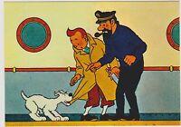 Carte Postale Tintin - Les aventures de Tintin n°3. Editions YVON 1978