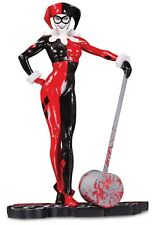 HARLEY QUINN RED WHITE AND BLACK STATUE BY ADAM HUGHES - NEW/BOXED