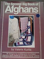 The Second Big Book of Afghans by Valerie Kurita
