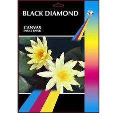 Black Diamond Toile A3 Professionnelle Grade Papier Photo 220g/m² - 50 Feuilles