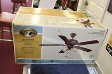 Hampton Bay Glendale 52 in. LED Oil-Rubbed Bronze Ceiling Fan with Light Kit