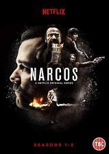 NARCOS 1-3 (2015-2017) Pablo Escobar Netflix TV Season Series NEW Rg2 DVD not US