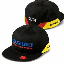 SUZUKI MX adulti Snapback Cap Hat Trucker cappuccio L/XL MXGP Factory RMZ RM
