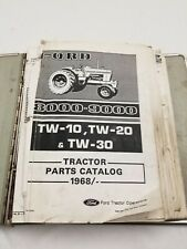 Ford 8000 9000 Tw10 Tw20 Tw30 Tractor Parts Catalog 1968