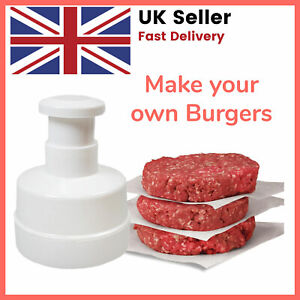 Burger Press make Beefburgers Hamburgers Quarter Pounder Maker Mould Barbecue