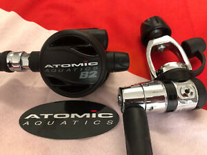 ATOMIC AQUATICS B2 REGULATOR +YOKE 1ST STAGE STERILIZED +JUST SERVICED😎!